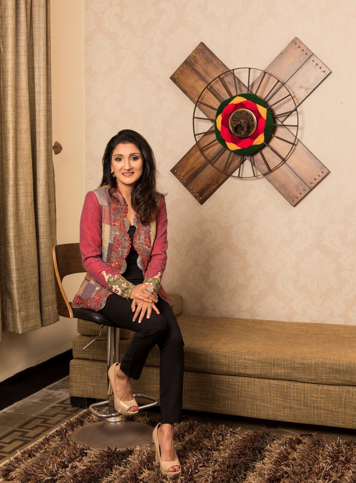 Arpita Bhandari design energist achromatic colours design dekko