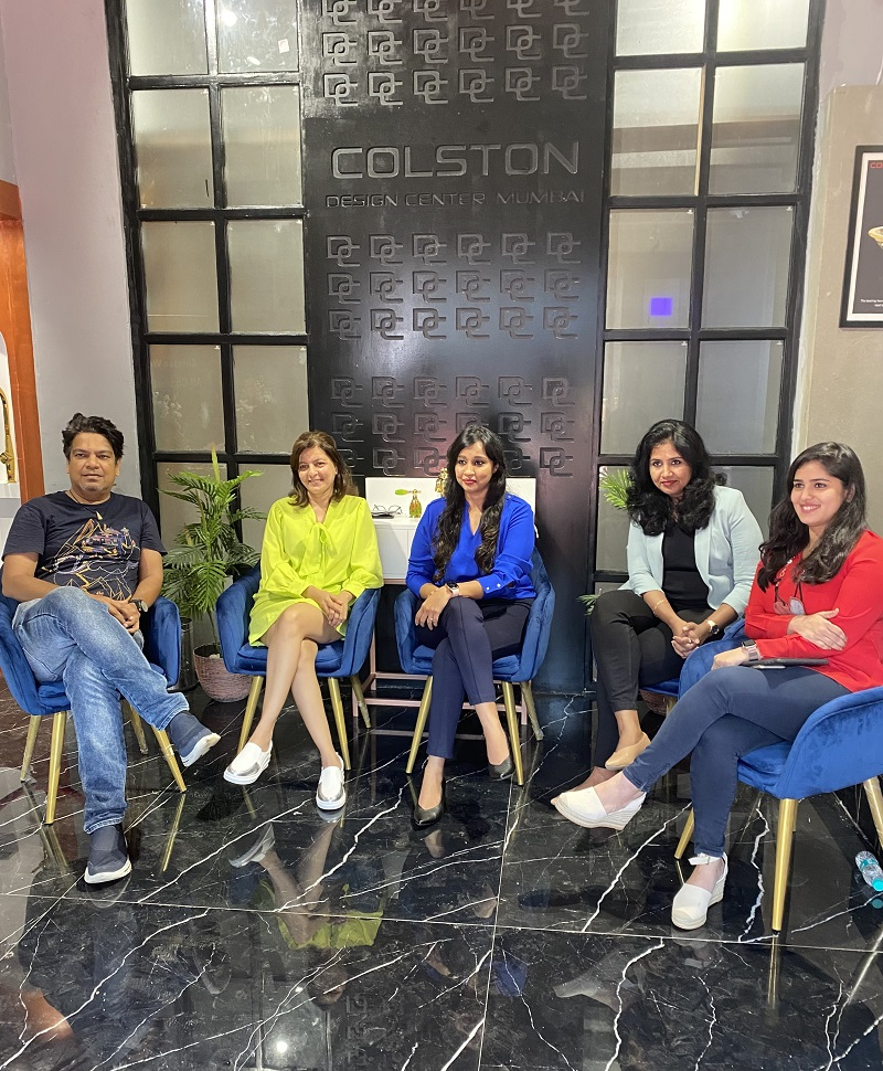 Colston Bath and Spa unveils its first Design Centre in Mumbai