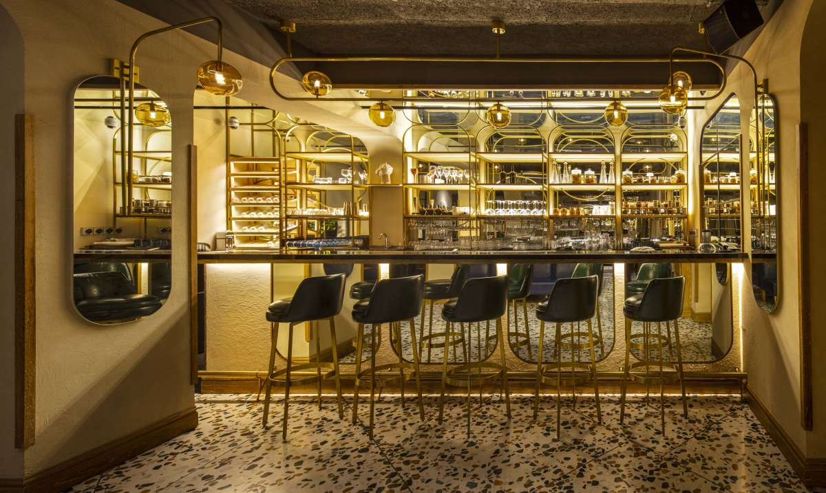 GroupDCA designs a maximalist restaurant in the heart of Delhi's Khan Market