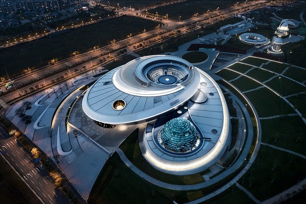 Ennead Architects designs world's largest astronomy museum in Shanghai