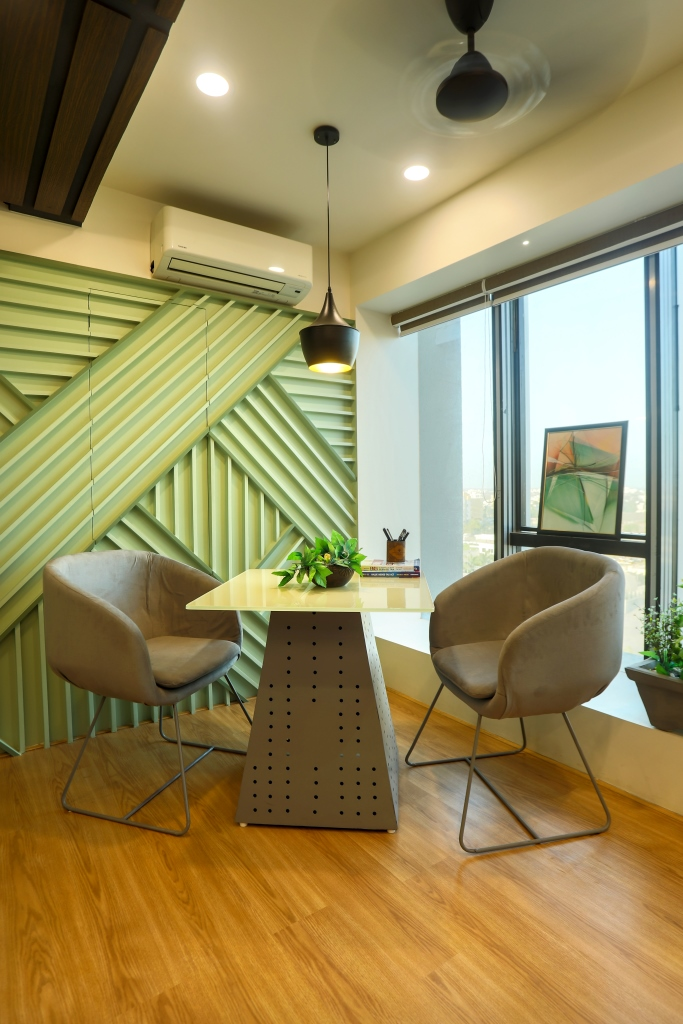 Rajkot, Gujarat : Cool yet Classic workspace designed by IKS Architects
