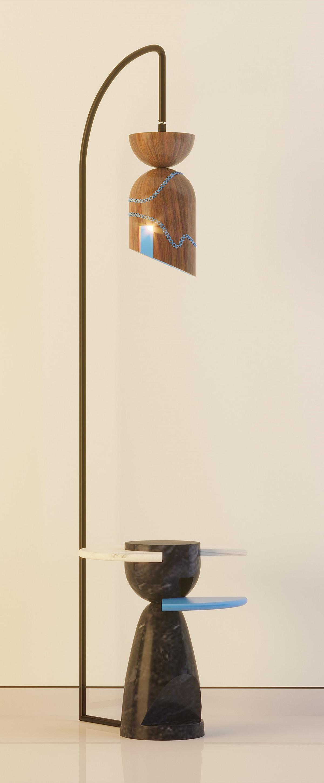 Inside Out Corner Table Light Neo Morph