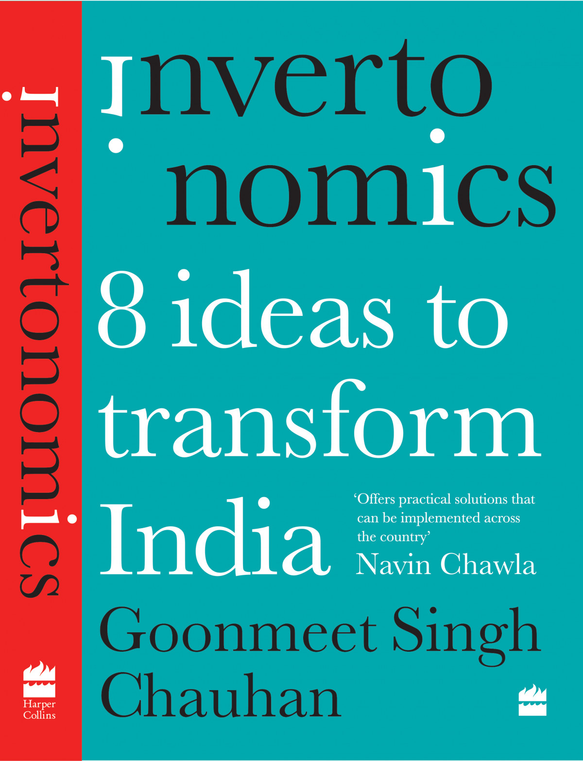 Architect and author Goonmeet Singh Chauhan Invertonomics