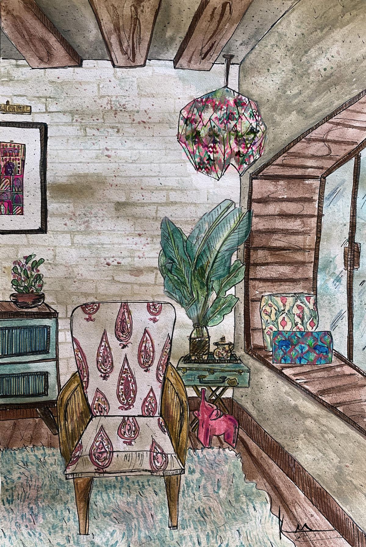 Design Dekko Krishnamithra hand painted home spaces
