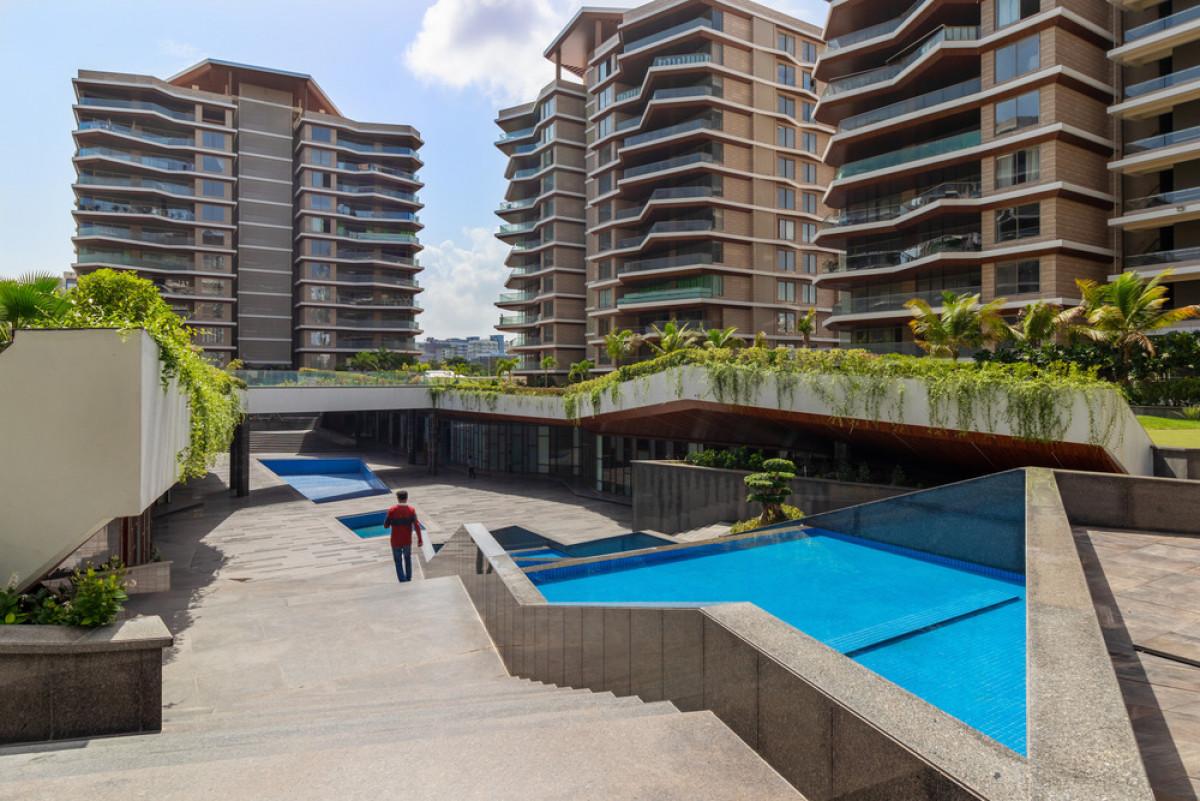 A view of the sub terranean recreational club