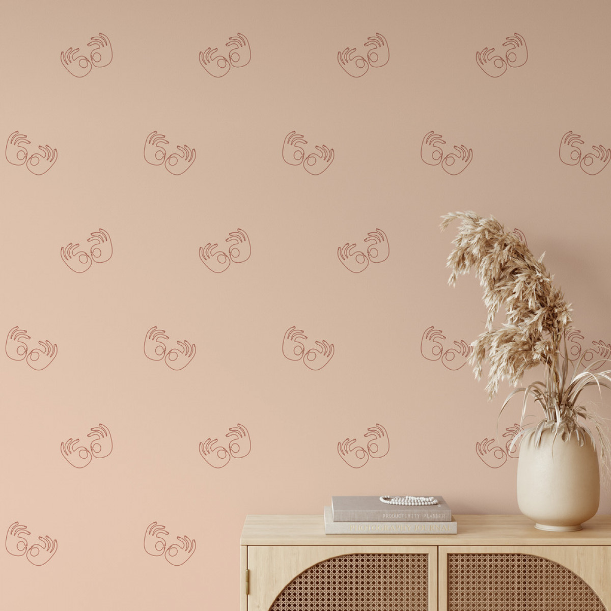 Twist terrazzo  Color : pink / terracotta    Photo credit: MERAKI