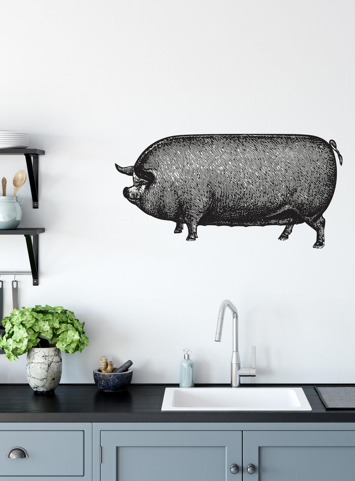 A pig all along  Color : B&W   Photo credit: MERAKI